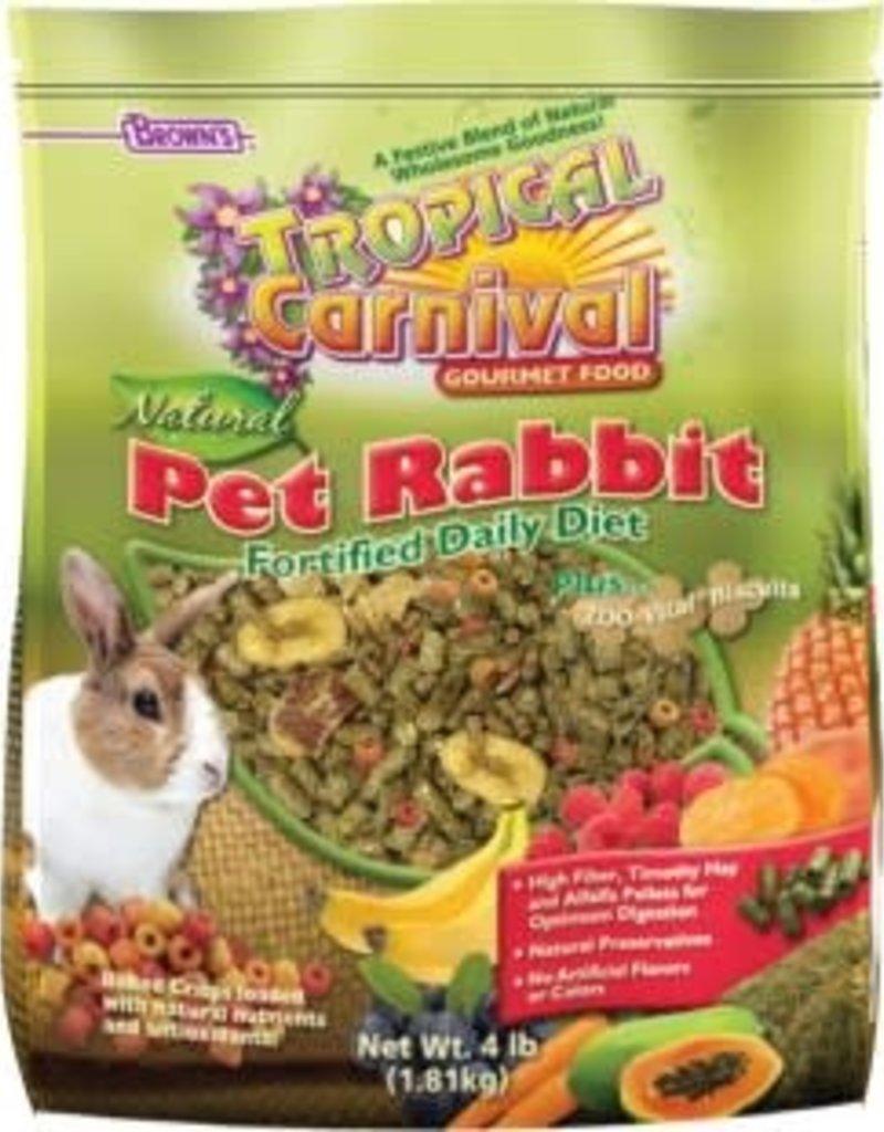 Brown's TC Pet Rabbit Food 4lb