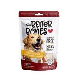 Zeus Better Bones - BBQ Chicken Flavor - 4 pack
