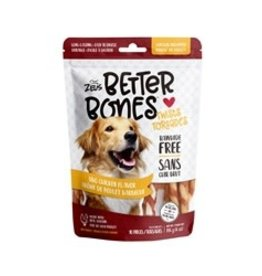 Zeus Better Bones - BBQ Chicken Flavor - Chicken-Wrapped Twists - 10 pack