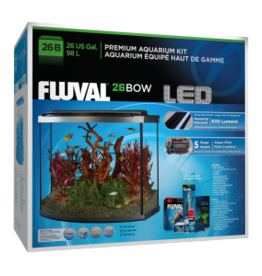Fluval Fluval Aquarium Kit with LED - 26 Bow - 98 L (26 Gal)