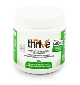 Thrive Big Country Raw Thrive Green Lipped Sea Mussels - 160g