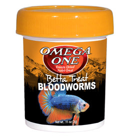 Omega One Betta Treat Bloodworms 3g