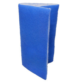 "Seapora Seapora Blue Bonded Dual Density Filter Pad - 24"" x 15"""