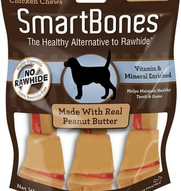 Smart Bones Smart Bones Peanut Butter Large 3 Pack