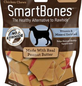 Smart Bones Smart Bones Peanut Butter Small 6 Pack
