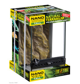 Exo Terra Exo Terra Nano Tall Terrarium - 8in x 8in x 12in