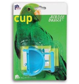 Prevue Hendryx Prevue Hendryx Birdie Basics Plastic Hanging Cup with Mirror