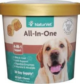 NaturVet Naturvet All-In-One Soft Chew 70ct