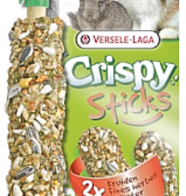 Versele Laga Versele Laga Crispy Sticks Rabbit and Chinchilla Herbs 2x55g