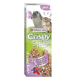 Versele Laga Versele Laga Crispy Sticks Rabbit and Chinchilla Forest Fruit 2x55g