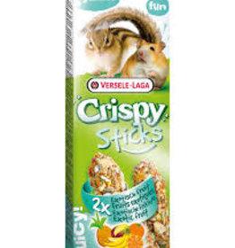Versele Laga Versele Laga Crispy Sticks Hamster & Chipmunk Exotic Fruit 2x55g