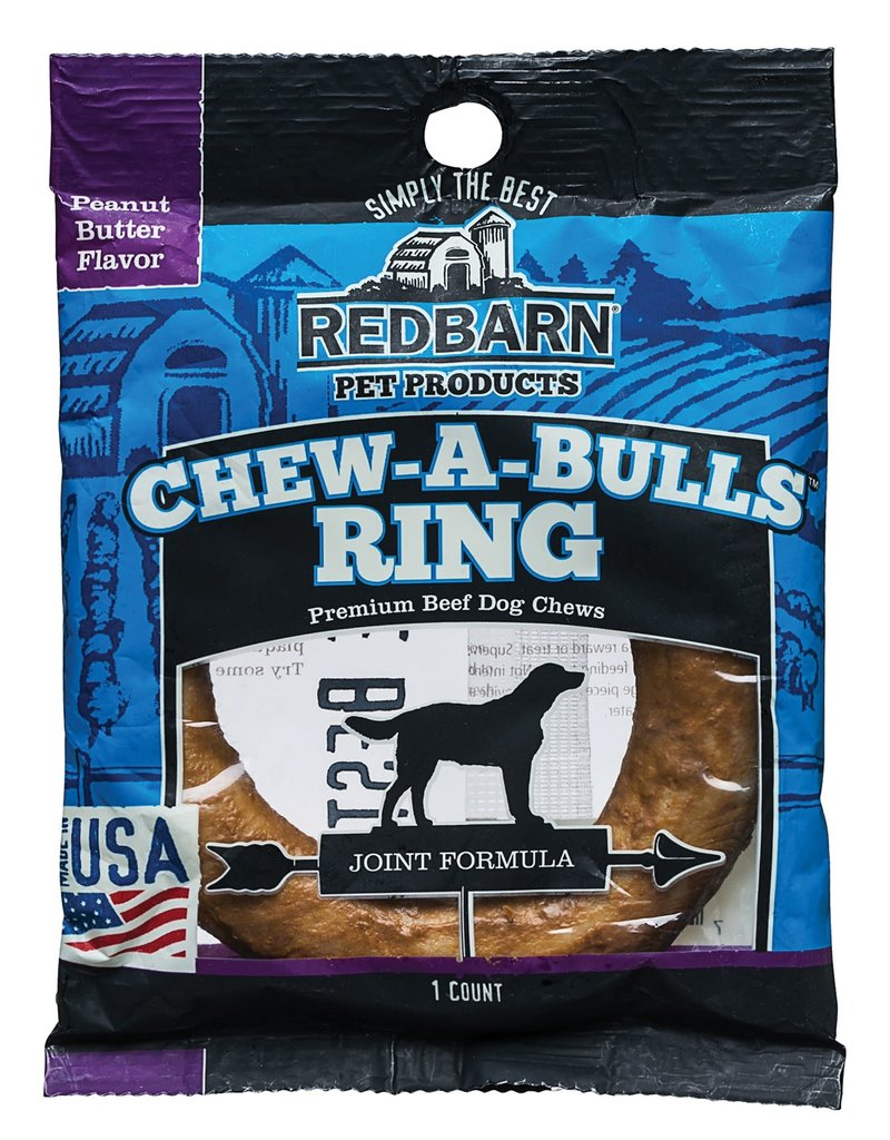 Red Barn Red Barn Chew A Bulls Ring Peanut Butter