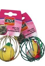riga Riga Cat Toy - Metal Ball