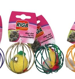 riga Riga Cat Toy - Metal Ball