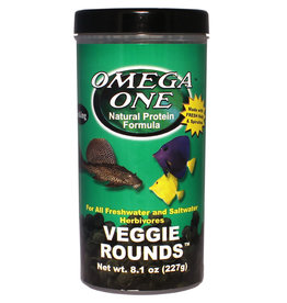 Omega One Veggie Rounds - 8.1 oz