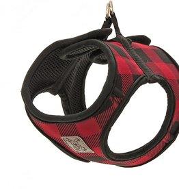 RC Pets RC Pets Cirque Harness XS Red Buffalo Plaid
