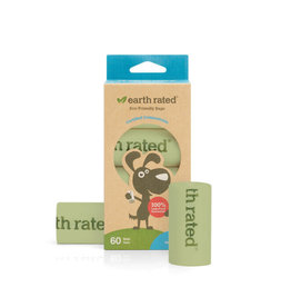Earth Rated Earth Rated  Compostable Refill Bags 4 Rolls 60Bags