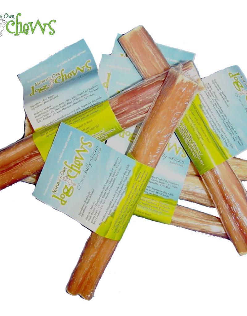 """Nature's Own Bulk - 6"""" Odor Free Bully Sticks"""
