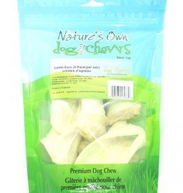 Nature's Own Dog Chews Nature's Own Lamb Ears - 8 pack