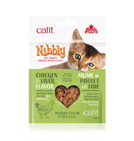 Catit Catit Nibbly Cat Cookies - Chicken Liver 90g