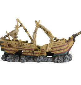 Underwater Treasures Underwater Treasures Shipwreck Schooner - Small