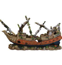 Underwater Treasures Underwater Treasures Shipwreck Schooner - Large
