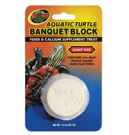 Zoo Med Zoo Med Aquatic Turtle Banquet Block - Giant - 1 pk