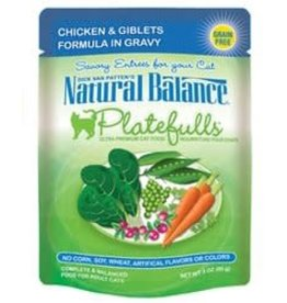Natural Balance Natural Balance Chicken & Giblets Platefulls 3oz