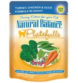 Natural Balance Natural Balance Turkey Chicken & Duck Platefulls 3oz