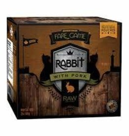 Big Country Raw Fare Game Rabbit & Pork 2LB