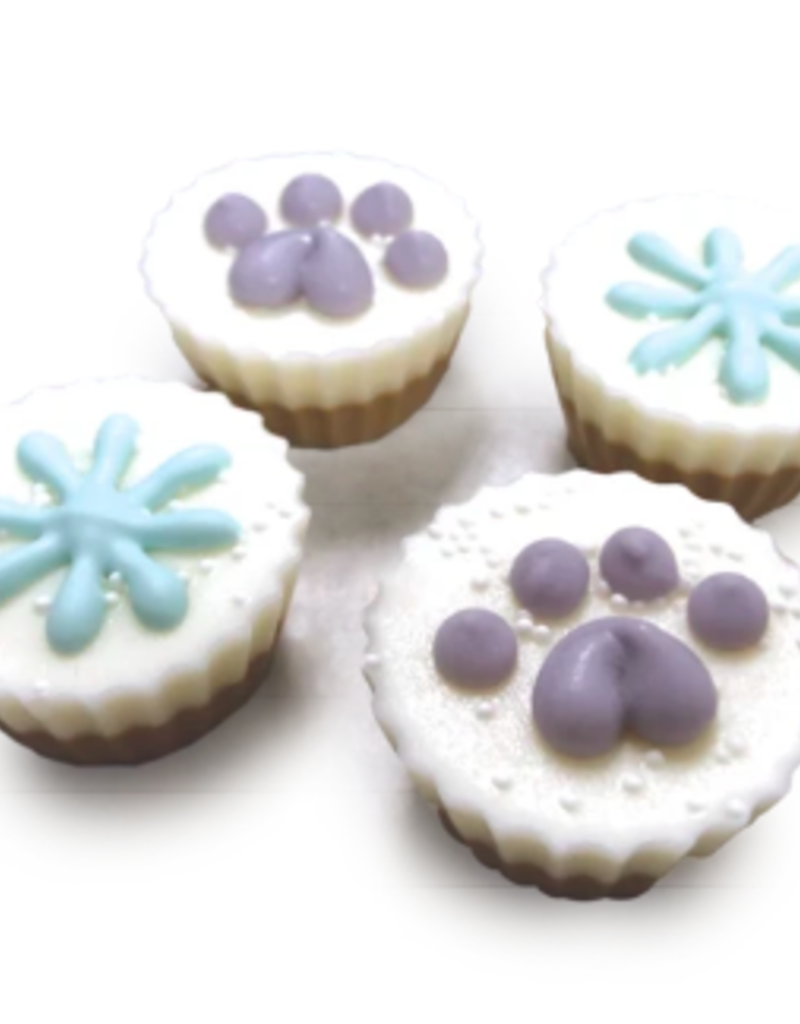 Bosco and Roxy's Bosco and Roxy's Peanut Butter Flavoured Treat Cups - Snow Cute 1pc