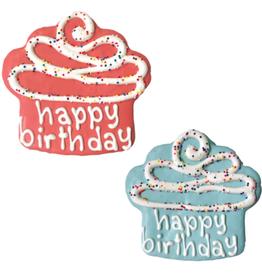 """Bosco and Roxy's Bosco and Roxy's Happy Birthday Cupckake Prepackaged 4"""""""