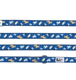 "RC Pets RC Pets Leash 1"" x 6ft. Space Dogs"