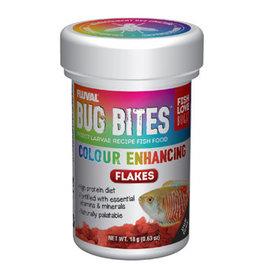 Fluval Fluval Bug Bites Color Enhancing Flakes 18g