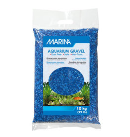 Marina Marina Decorative Aquarium Gravel - Blue Tone on Tone - 10 kg (22 lbs)