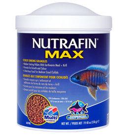Nutrafin Nutrafin Max Cichlid Sinking Granules - Medium Pellets - 550 g (19.4 oz)