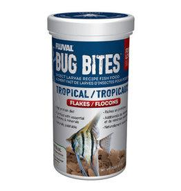 Nutrafin Fluval Bug Bites Tropical Flakes - 90g