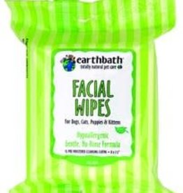 Earthbath Earthbath Facial Wipes - 25 pack