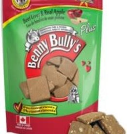 Benny Bully Benny Bully's Beef Liver & Real Apple Dog Treats - 58g