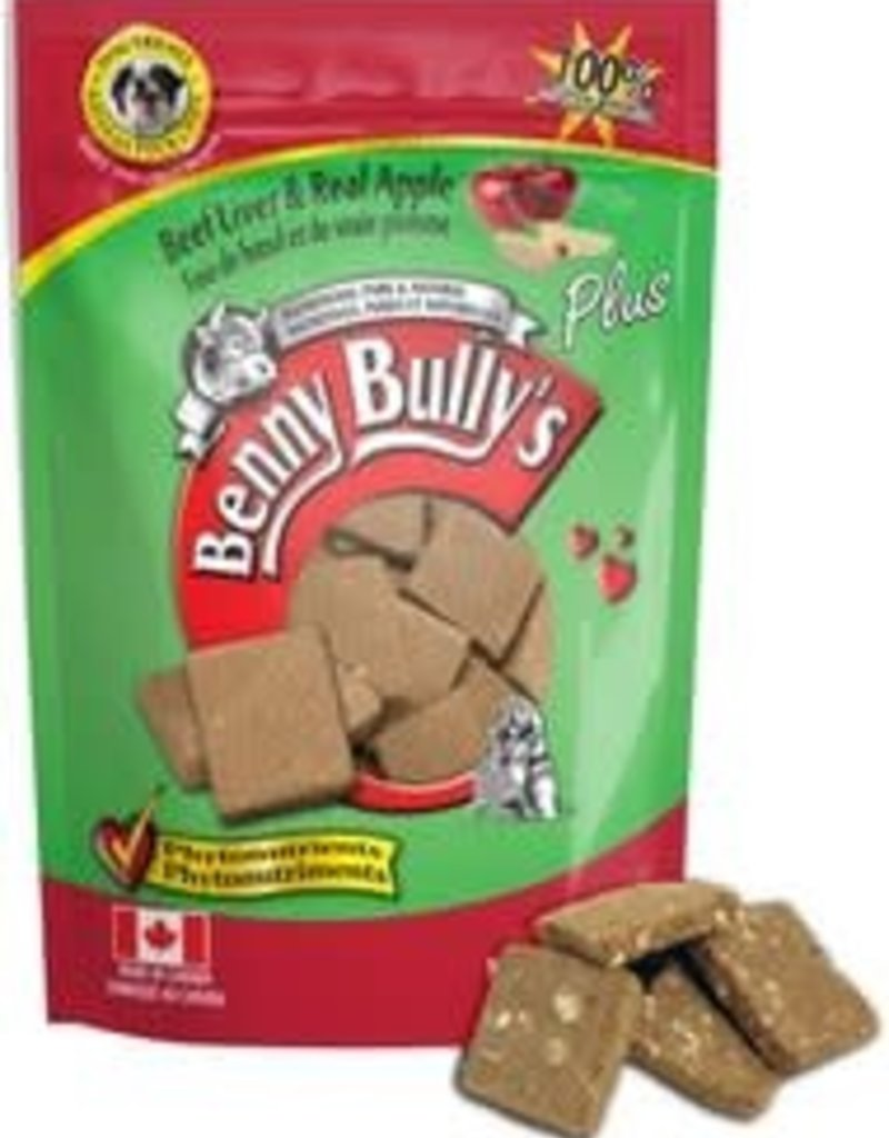 Benny Bully Benny Bully's Beef Liver & Real Apple Dog Treats - 58g
