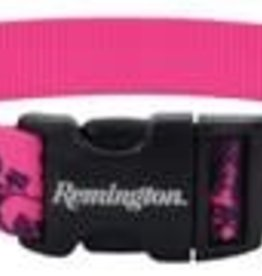 "Remington Blaze Adjustable Tree Patterned Collar Pink 18-26"""