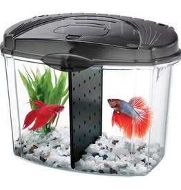 Aqueon Aqueon Betta Bowl Starter Kit - Black