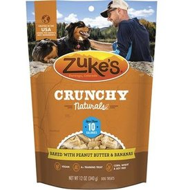 zukes Zukes Crunchy Naturals Peanut Butter & Bananas 12oz
