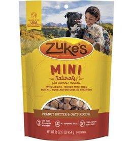 zukes Zukes Mini Naturals Peanut Butter & Oats 16oz