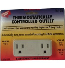 Farm Innovators Thermo Cube - Thermostatically Controlled Outlet