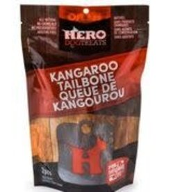 hero Hero Dehydrated Kangaroo Tails - 2pc