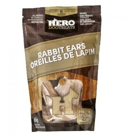 hero Hero Dehydrated Rabbit Ears - 65g