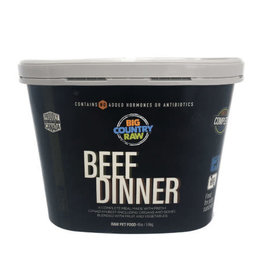 Big Country Raw Big Country Raw Beef Dinner Tub - 4 lb
