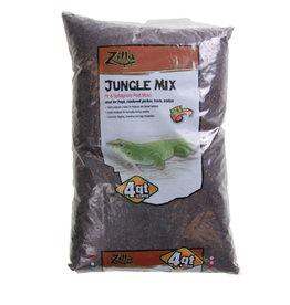Zilla Jungle Mix Premium Reptile Bedding - 4 qt