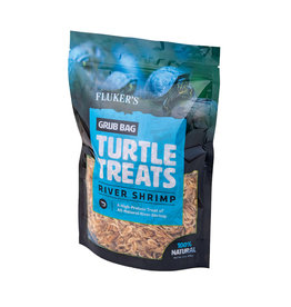 Fluker's Fluker's Grub Bag Turtle Treats - River Shrimp - 6 oz